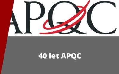 40 let APQC