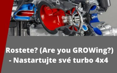 Rostete? (Are you GROWing?) – Nastartujte turbo 4×4