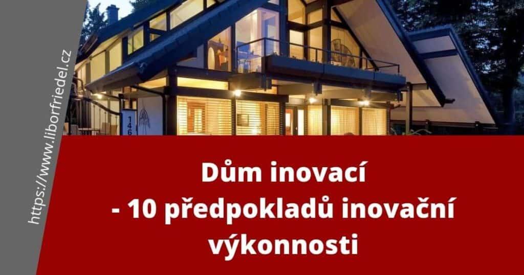Dům inovací - foto a titulek k článku na blog